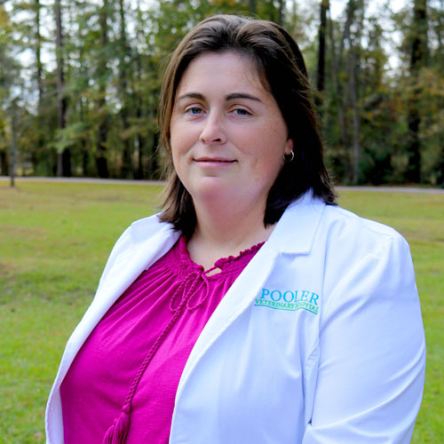 Dr. Jessica Akins Hook - Pooler Veterinary Hospital - Bloomingdale, GA